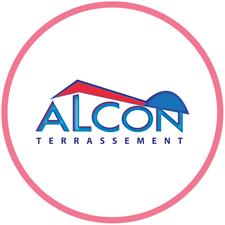 création du logo Alcon Terrassement