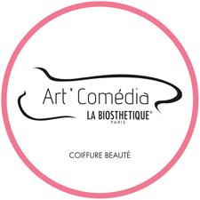 Création du logo Art'Comedia - coiffure et beauté