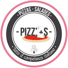 création du logo Pizz'As, pizzeria