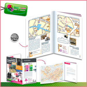 Réalisation brochure guide touristique et des commercants de Mende