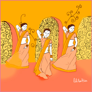 Illustration Bolywood, just-oneday.fr, chorégraphie, danse