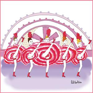 illustration cabaret, just-oneday.fr, cabaret, danse