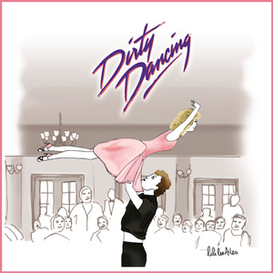 illustration Dirty dancing, chorégraphie just-oneday.fr, film, danse