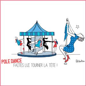 Illustration pole-dance, just-oneday.fr, danse, chorégraphie